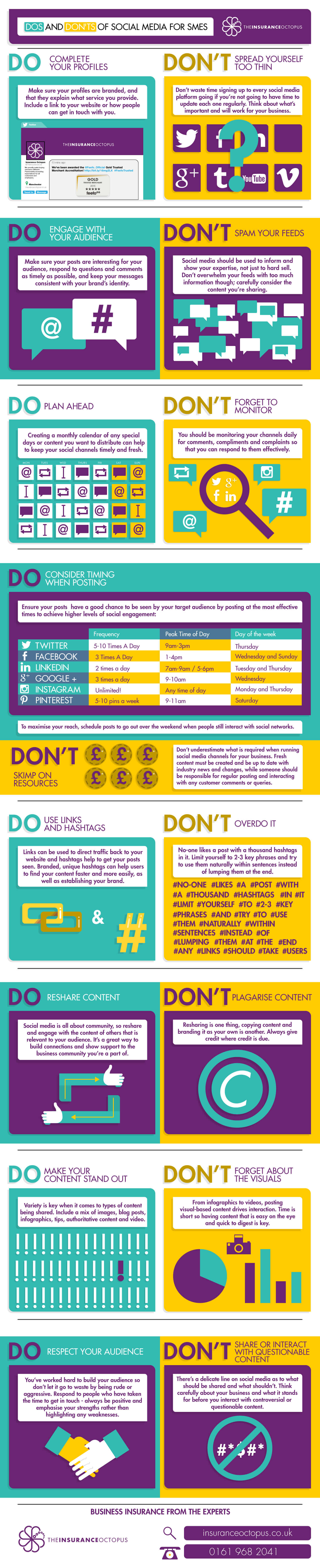 The Dos and Don'ts of Social Media for SMEs